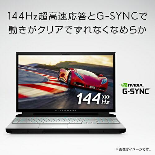 DELLデルゲーミングノートパソコンALIENWAREAREA-51mR1(英語版OS)ルナライト(シルバーホワイト)NAM107E-9WL[17.3型/intelCorei7/SSD:1TB/メモリ:16GB/2019年秋冬モデル][NAM107E9WL]