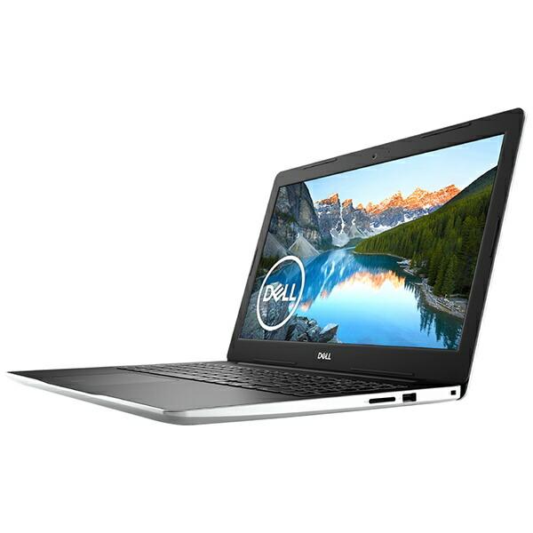DELLデルNI355L-9WHBWノートパソコンInspiron153593ホワイト[15.6型/intelCorei5/SSD:256GB/メモリ:8GB/2019年秋冬モデル][15.6インチoffice付き新品windows10]