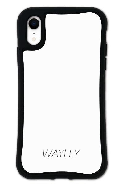 ケースオクロックcaseoclockiPhoneXRWAYLLY-MKセットドレッサースモールロゴホワイトmksl-set-xr-wht