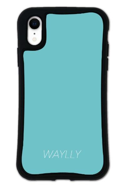 ケースオクロックcaseoclockiPhoneXRWAYLLY-MKセットドレッサースモールロゴミントブルーmksl-set-xr-mbl