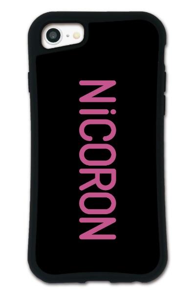 ケースオクロックiPhone6/6s/7/8WAYLLY-MK×NiCORON【セット】ドレッサーロゴmkncr-set-678-lg