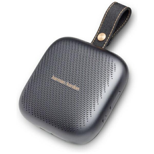 HARMAN/KARDONハーマン/カードンブルートゥーススピーカーHKNEOGRYBSGブラック[Bluetooth対応/防水][HKNEOGRYBSG]