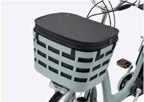 ブリヂストンBRIDGESTONEフロントスクエアバスケットカバー(ブラック)FBC-FRBLP6500