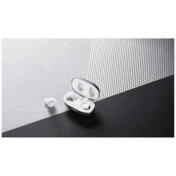 マクセルMaxellフルワイヤレスイヤホンMXH-BTW2000WSホワイト×シルバー[ワイヤレス(左右分離)/Bluetooth][MXHBTW2000WS]