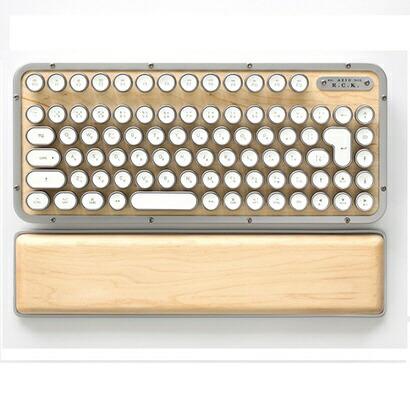 AZIOアジーオMK-RCK-W-02-JPキーボードレトロクラシックメープル[Bluetooth・USB/有線・ワイヤレス][MKRCKW02JP]