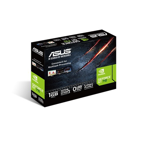 ASUSエイスースグラフィックボードGT710-SL-1GD5-BRK[1GB/GeForceGTシリーズ][GT710SL1GD5BRK]