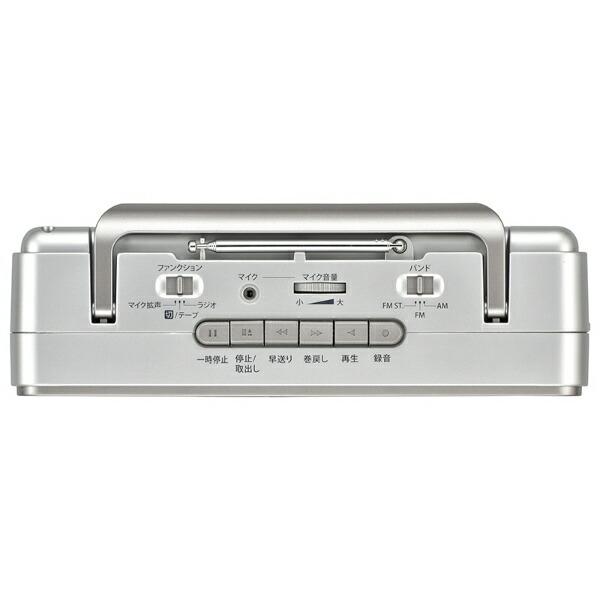 オーム電機OHMELECTRICRCS-S940RポータブルステレオラジオカセットレコーダーAudioComm[RCSS940R]