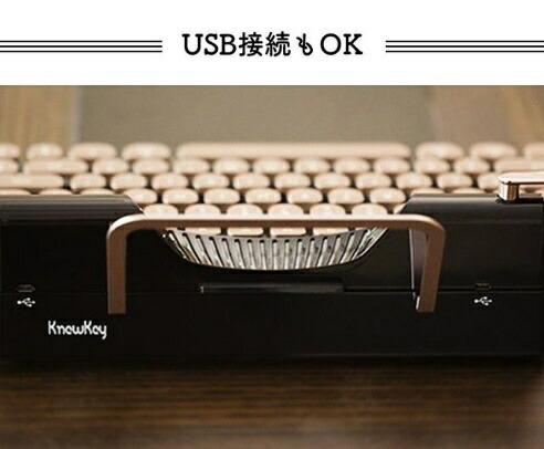 VinpokビンポックRYMEK-2BキーボードRymekクラッシーブラック[Bluetooth・USB/有線・ワイヤレス][RYMEK2B]