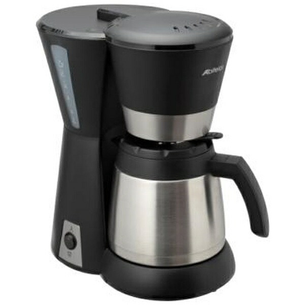 アビテラックスAbitelaxACD-88W-Kコーヒーメーカーブラック&シルバー[ACD88W]