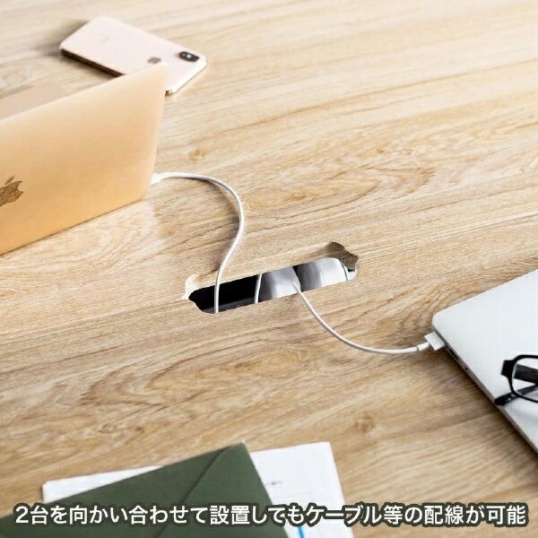 サンワサプライSANWASUPPLYスタンディングデスク(W1600×D500mm)EHD-MST16050LM薄い木目