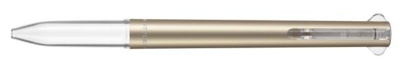 三菱鉛筆MITSUBISHIPENCIL【限定】スタイルフィット3色ホルダーPCゴールド