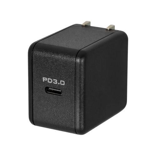 OWLTECHオウルテックPD対応USBType-C1ポートAC充電器PowerDelivery3.0対応最大出力18WOWL-ACPD1C18-BKブラック