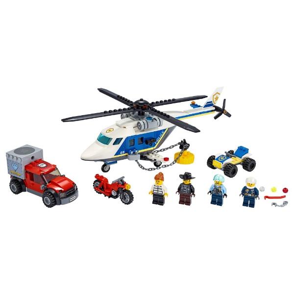 レゴジャパンLEGO60243シティポリスヘリコプターの追跡[レゴブロック]