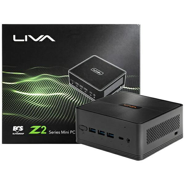 ECSイーシーエスLIVAZ2-4/64-W10(N4000)SデスクトップパソコンLIVAZ2(N4000)64G[モニター無し/eMMC:64GB/メモリ:4GB/2019年冬モデル][LIVAZ2464W10N4000S]
