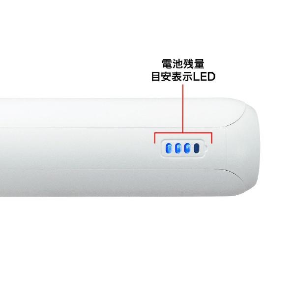 サンワサプライSANWASUPPLYモバイルバッテリーホワイトBTL-RDC18W[20000mAh/2ポート/充電タイプ]