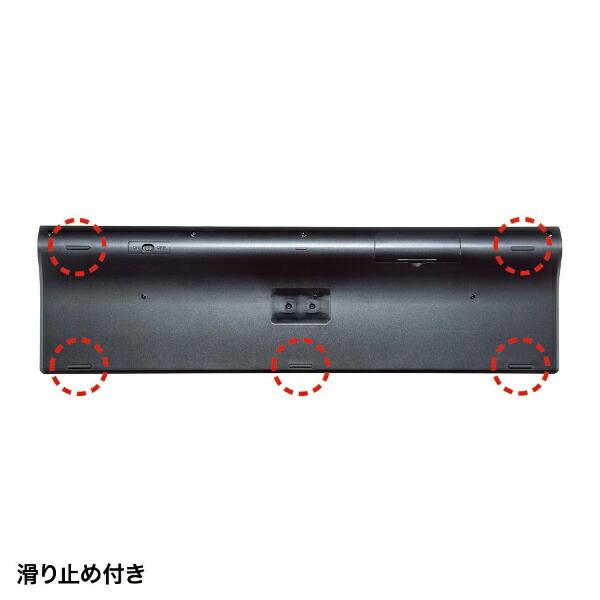 サンワサプライSANWASUPPLYSKB-WL33BKキーボードブラック[USB/ワイヤレス][SKBWL33BK]
