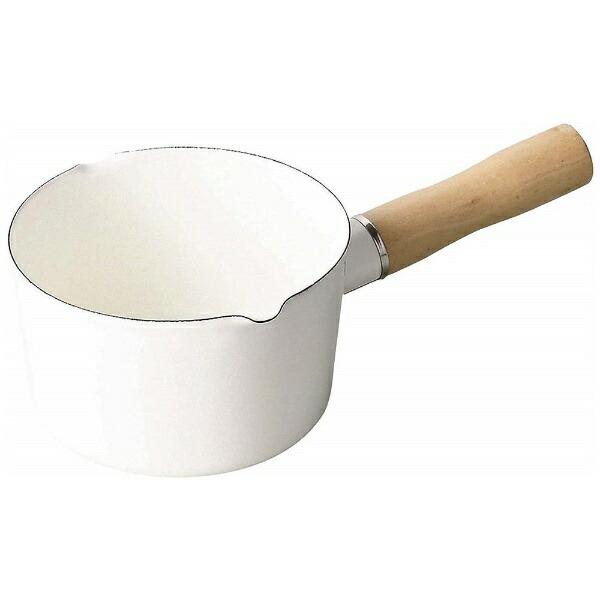 パール金属PEARLMETALブランキッチンホーローミルクパンHB-4440ホワイト[12cm][HB4440]