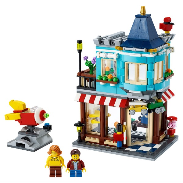 レゴジャパンLEGO31105クリエータータウンハウスおもちゃ屋さん