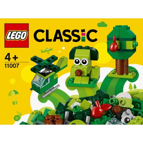 レゴジャパンLEGO11007クラシック緑のアイデアボックス[レゴブロック]