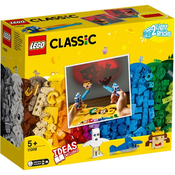 レゴジャパンLEGO11009クラシックアイデアパーツ〈ライトセット〉