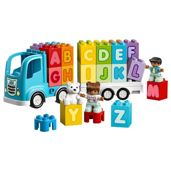 レゴジャパンLEGO10915デュプロはじめてのデュプロアルファベットトラック[レゴブロック]