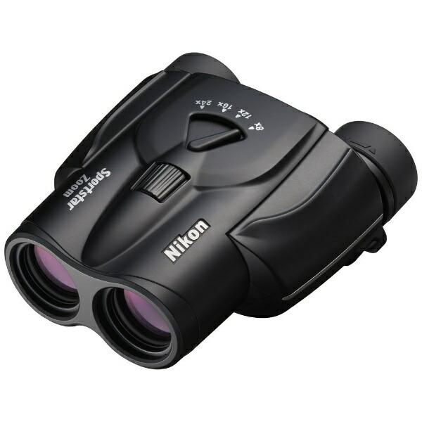 ニコンNikon8〜24倍双眼鏡「SportstarZoom」8-24×25ブラック[8~24倍][SPZ824X25BL]