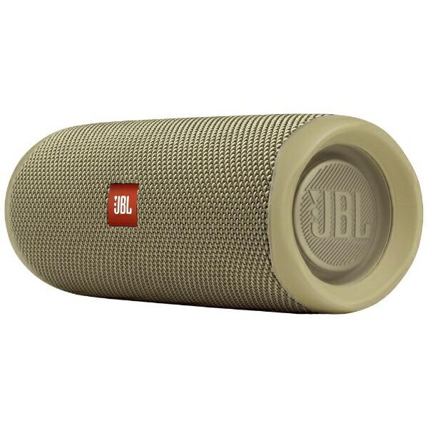 JBLジェイビーエルブルートゥーススピーカーサンドJBLFLIP5SAND[Bluetooth対応][JBLFLIP5SAND]【point_rb】
