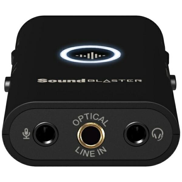 クリエイティブメディアCREATIVEPS4/Switch/PC対応ポータブルゲーミングUSBDACアンプSoundBlasterG3SB-G-3【PS4/Switch/PC】