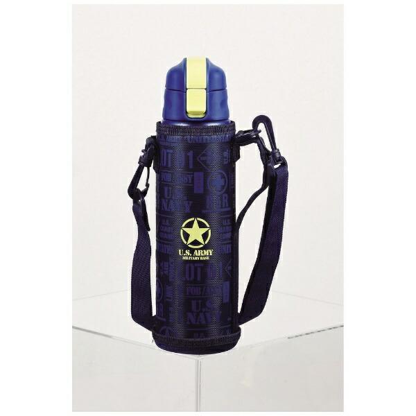 パール金属PEARLMETALキッズチャージャーダイレクトボトル800ポーチ付HB-4922ネイビー[HB4922]
