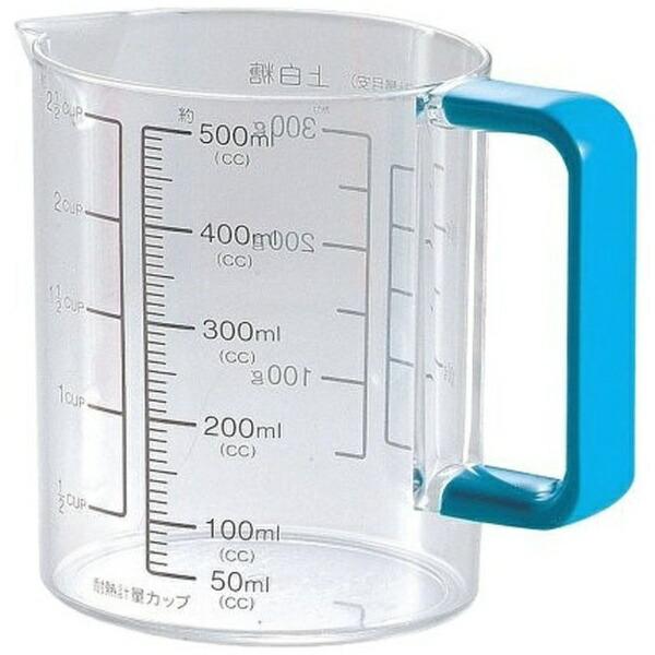 パール金属PEARLMETALColors耐熱計量カップ500mlC-1394ブルー[C1394]