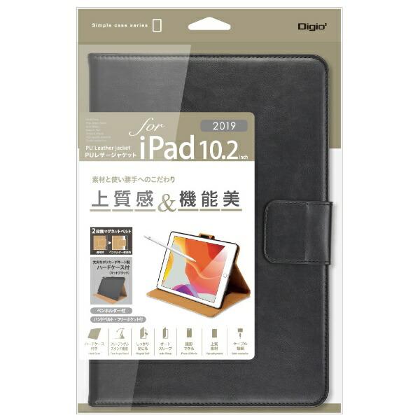 ナカバヤシNakabayashi10.2インチiPad(第7世代)用PUレザージャケットTBC-IP1908BKブラック