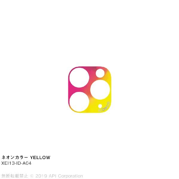 アピロスapeirosisDecoネオンカラーYELLOWforiPhone11Pro/11ProMaxEYLEXEI13-ID-A04