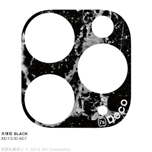 アピロスapeirosisDeco大理石BLACKforiPhone11Pro/11ProMaxEYLEXEI13-ID-A07