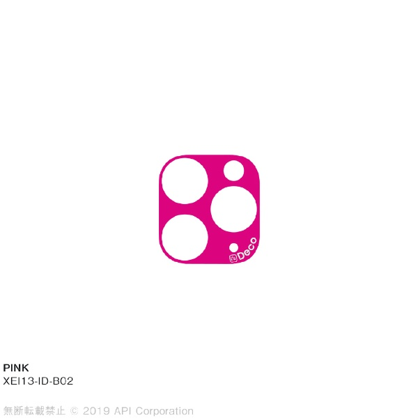 アピロスapeirosisDecoPINKforiPhone11Pro/11ProMaxEYLEXEI13-ID-B02