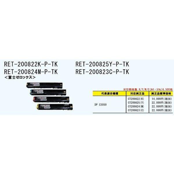 パイロットPILOTRET-200823C-P-TKリサイクルトナー富士ゼロックスCT200823互換シアン[RET200823CPTK]
