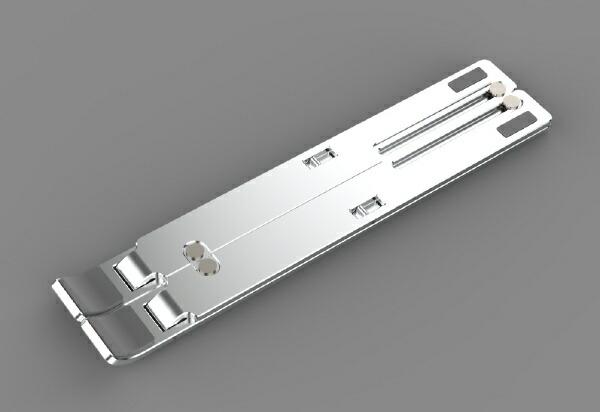 3Eスリーイーノートパソコンスタンド[〜15.6インチ]アルミ製組立式Alumimover3E-DESKST7