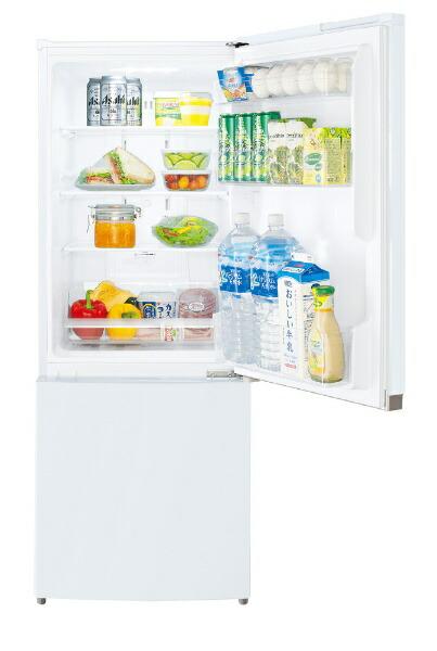 東芝TOSHIBA《基本設置料金セット》GR-R15BS-W冷蔵庫BSシリーズセミマットホワイト[2ドア/右開きタイプ/153L][冷蔵庫小型一人暮らしGRR15BSW]