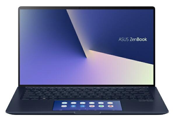 ASUSエイスースUX334FAC-A4115TノートパソコンZenBook13ロイヤルブルー[13.3型/intelCorei7/SSD:512GB/メモリ:16GB/2019年12月モデル][13.3インチ新品windows10]