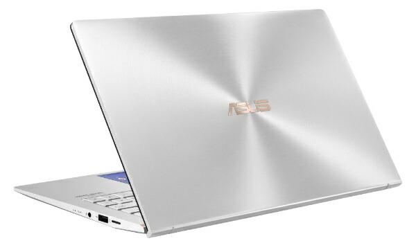 ASUSエイスースUX334FAC-A4117TノートパソコンZenBook13アイシクルシルバー[13.3型/intelCorei7/SSD:512GB/メモリ:16GB/2019年12月モデル][13.3インチ新品windows10]