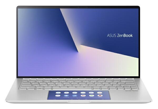 ASUSエイスースUX334FAC-A4117TSノートパソコンZenBook13アイシクルシルバー[13.3型/intelCorei7/SSD:512GB/メモリ:16GB/2019年12月モデル][13.3インチoffice付き新品windows10]