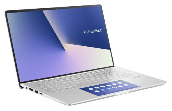 ASUSエイスースノートパソコンZenBook13アイシクルシルバーUX334FAC-A4116TS[13.3型/intelCorei5/SSD:512GB/メモリ:8GB/2019年12月モデル][13.3インチoffice付き新品windows10]