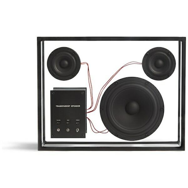 TRANSPARENTSPEAKERTPS-01ブルートゥーススピーカーTRANSPARENTSPEAKERブラック[Bluetooth対応]