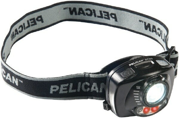 ペリカンPelican2720HKヘッドランプ(2720Headlamp)2720HK[LED/単4乾電池×3/防水]