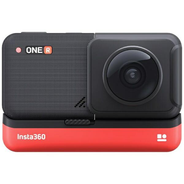 Insta360レンズ交換対応アクションカメラ[Insta360ONERツイン版]360度モジュール+4K広角モジュールCINAKGP/A[4K対応/防水]