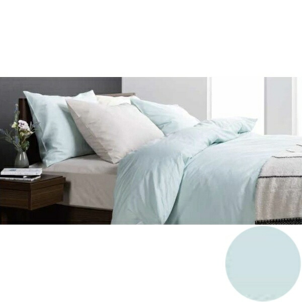 フランスベッドFRANCEBED【ボックスシーツ】エッフェスタンダードダブルサイズ(綿100%/140×195×35cm/ブルー)フランスベッド