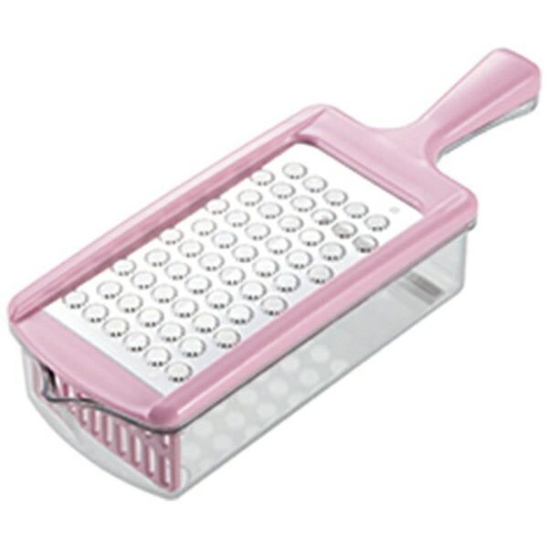 カクセーKakuseeステンレス製おろし器おろしぼりピンク05836