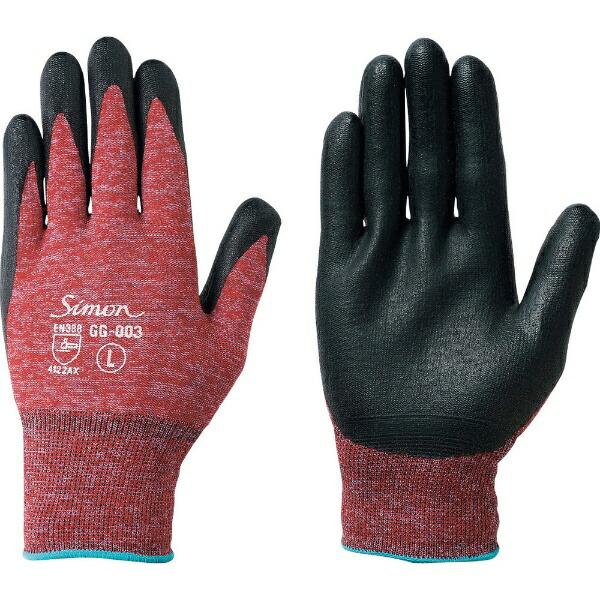 シモンSimonシモン作業手袋GG−003M寸GG-003-R-M