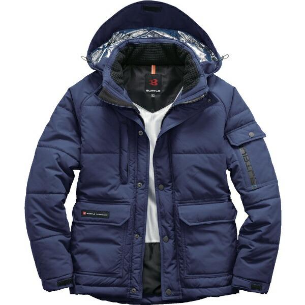 バートルBURTLEバ−トル防寒ジャケット7510−3−3Lネイビー7510-3-3L