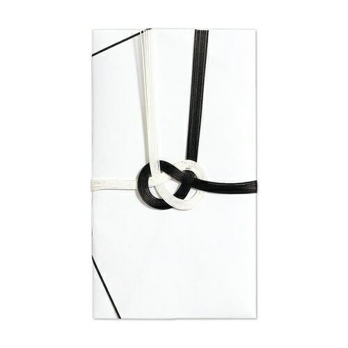 マルアイMARUAI仏金封黒白7本斜折字なしキ-310310