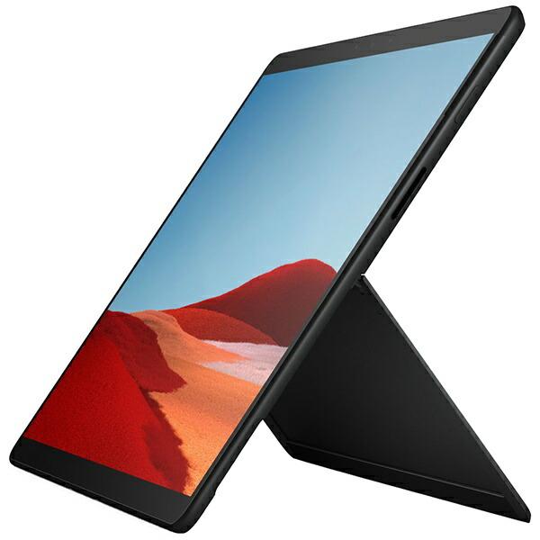 マイクロソフトMicrosoftSurfaceProX【LTE対応SIMフリー】[13型/SSD256GB/メモリ16GB/MicrosoftSQ1/ブラック/2020年]QFM-00011Windowsタブレット(キーボード別売)サーフェスプロX[タブレット本体13インチ]